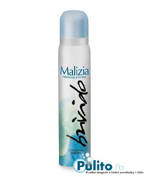 Malizia Deo Spray Brivido, dámský tělový deodorant 100 ml.