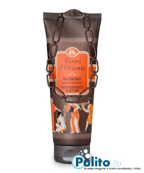 Tesori d´Oriente sprchový krém Fior di Loto e Karité 250 ml.