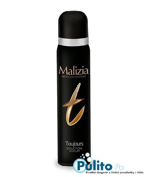 Malizia Deo Spray Toujours, dámský tělový deodorant 100 ml.