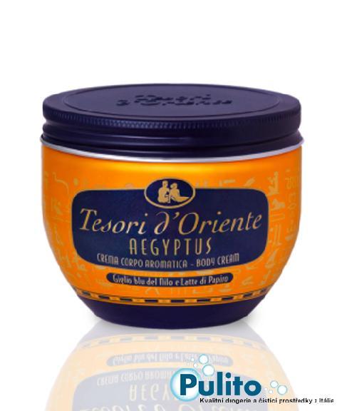 Tesori d´Oriente tělový krém Aegyptus 300 ml.
