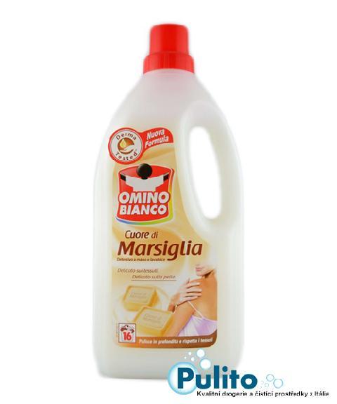 Omino Bianco Cuore di Marsiglia, prací gel 1 l. 16 PD