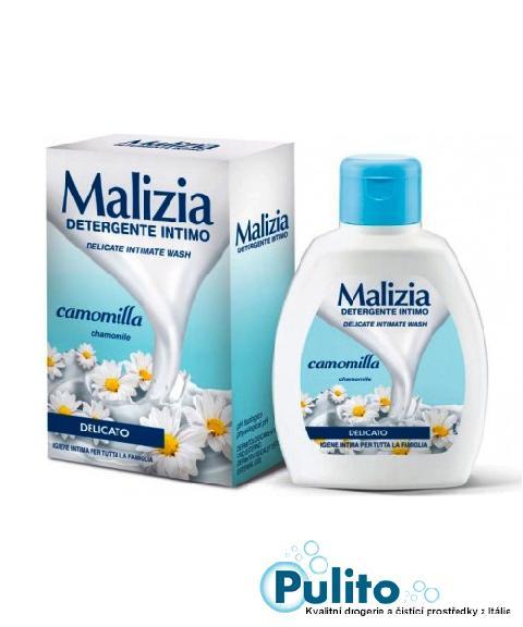 Malizia Intimo Delicato Camomilla, jemné intimní mýdlo 200 ml.