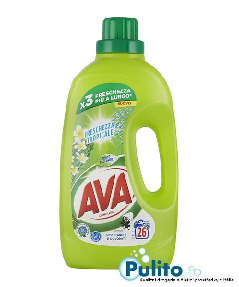 Ava Freschezza Tropicale prací gel 1,3 l, 26 PD