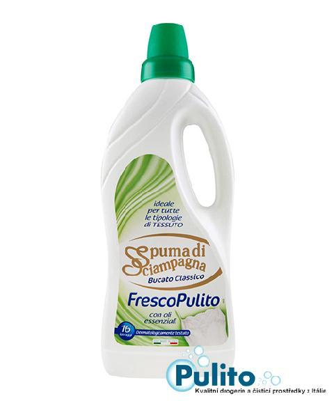 Spuma di Sciampagna Fresco Pulito, prací gel 1 l., 16 PD