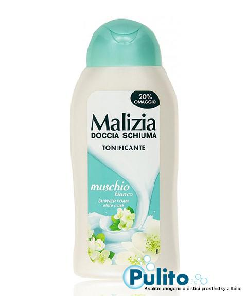Malizia sprchový gel Muschio Bianco 300 ml.