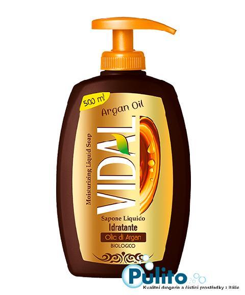 Vidal Olio di Argan, hydratační tekuté mýdlo 500 ml.
