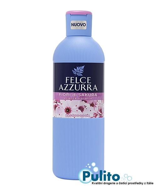 Felce Azzurra sprchový gel/koupelová pěna Fiori di Sakura 650 ml.