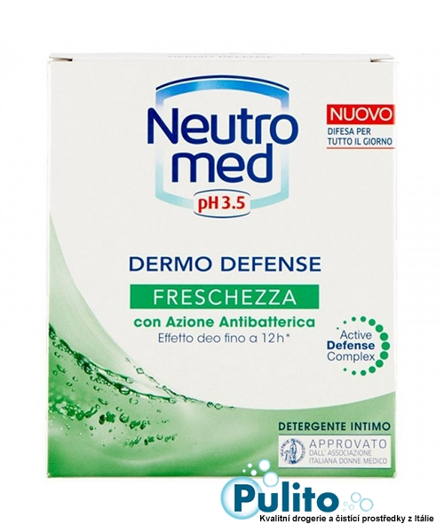 Neutromed pH 3,5 Freschezza, intimní mýdlo pro ženy v těhotenství, po porodu a sportující ženy 200 ml.
