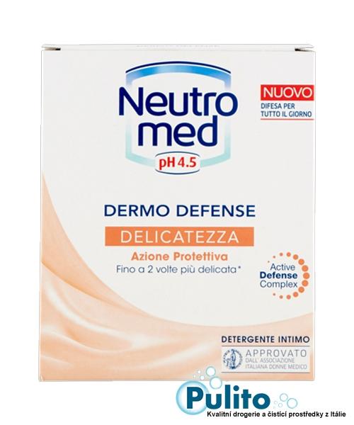 Neutromed pH 4,5 Delicatezza, intimní mýdlo pro ženy v produktivním věku 200 ml.