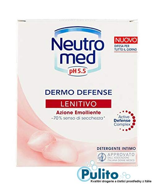 Neutromed pH 5,5 Lenitivo, intimní mýdlo pro ženy v menopauze a dívky v před pubertálním věku 200 ml.
