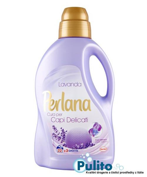 Perlana Care Advance Lana e Delicati Lavanda, prací gel 1,5 l.