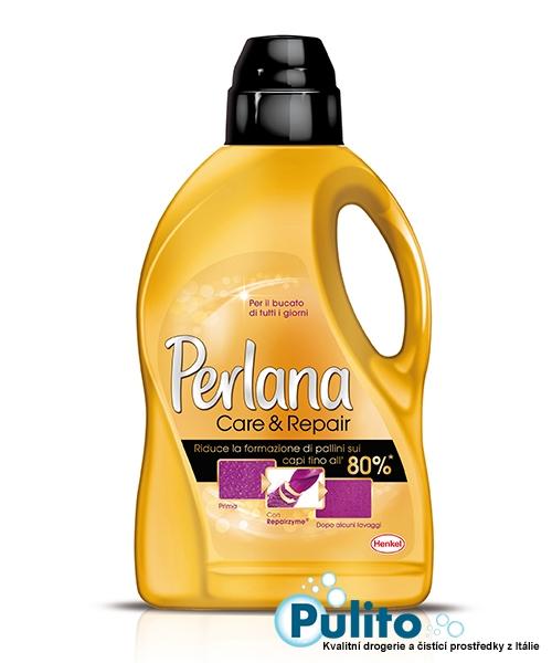Perlana Care & Repair prací gel 1,5 l., 25 pracích dávek