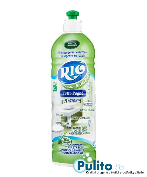 Rio Biologico Tutto Bagno 5v1, ekologický přípravek na koupelny 100% účinný 750 ml.