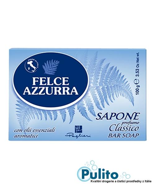 Felce Azzurra Sapone Solido Classico, toaletní mýdlo 100 g.