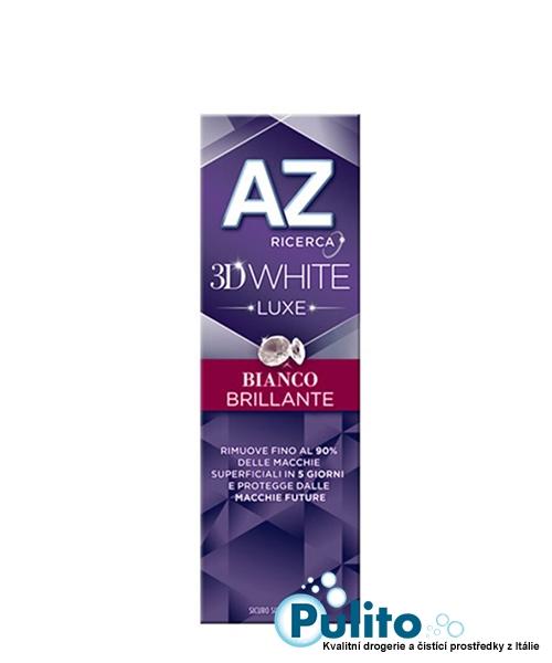AZ 3D White Luxe Bianco Brillante, bělící zubní pasta 75 ml.