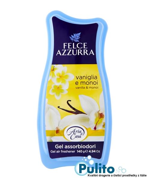 Felce Azzurra Aria di Casa Gel Vaniglia e Monoï, gelový osvěžovač vzduchu140 g.