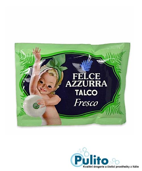 Felce Azzurra Talco Fresco, tělový pudr náhradní náplň 100 g.