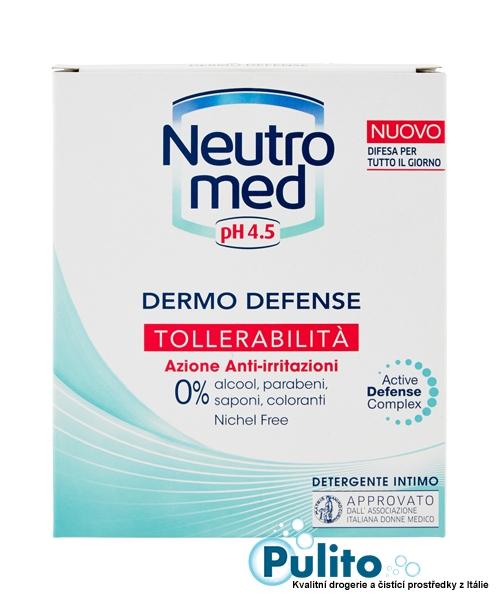 Neutromed pH 4,5 Tollerabilita, intimní mýdlo pro citlivou pokožku 200 ml.