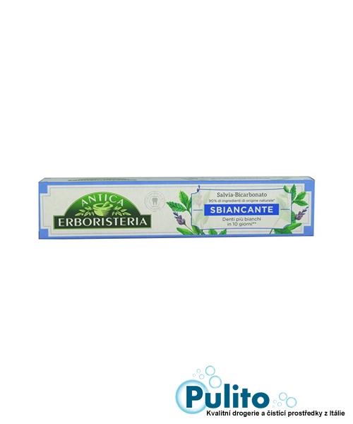 Antica Erboristeria Sbiancante Salvia, Menta&Bicarbonato, bělící zubní pasta 75 ml.