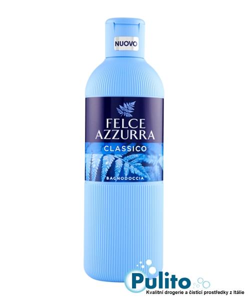 Felce Azzurra Classico sprchový gel/koupelová pěna 650 ml.