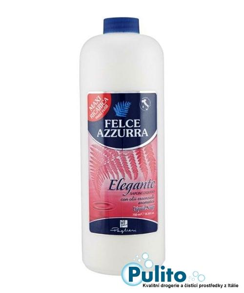 Felce Azzurra Sapone Liquido Elegante, tekuté mýdlo 750 ml.