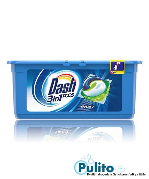 Dash 3v1 PODS gelové kapsle na bílé a světlé oděvy 15 ks.