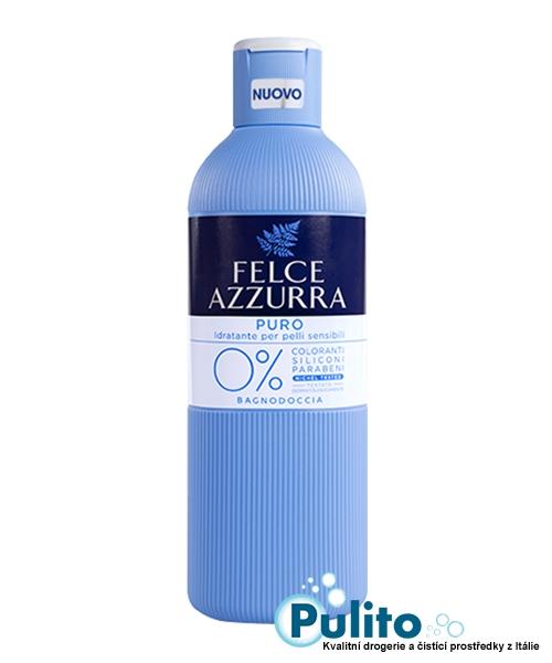 Felce Azzurra Puro 0% Bagnodoccia, sprchová pěna 650 ml.