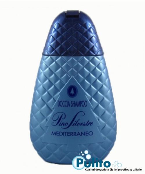 Pino Silvestre Mediterraneo, sprchový gel/vlasový šampon 250 ml.