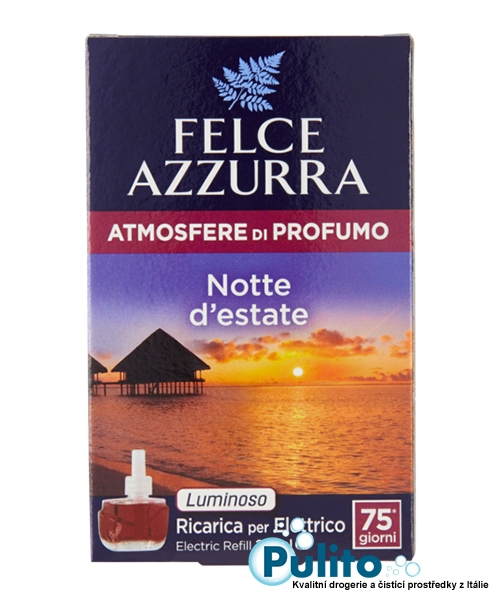 Felce Azzurra Aria di Casa náhradní náplň Notte d´estate, bytový parfém 20 ml.