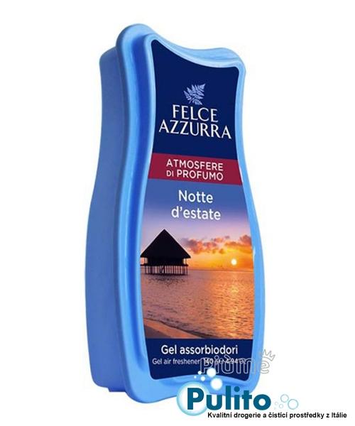 Felce Azzurra Aria di Casa Gel Atmosfere di Profumo Notte d´estate, gelový osvěžovač vzduchu 140 g.