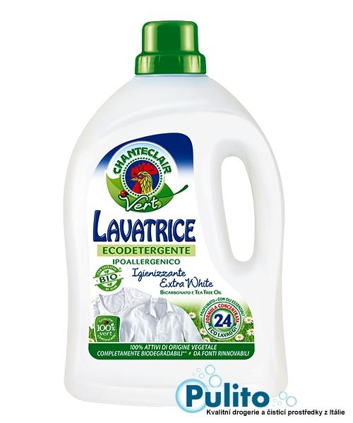 Chante Clair Vert Lavatrice Igienizzante Extra White, ekologický prací gel 1,488 l.