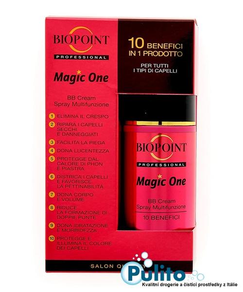 Biopoint Magic One BB Cream, ošetřující multifunkční sprej na vlasy 150 ml.