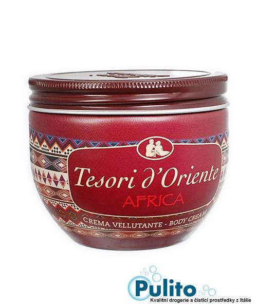 Tesori d´Oriente tělový krém Africa 300 ml.