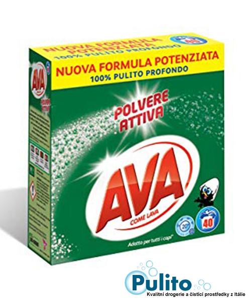 Ava Polvere Attiva prací prášek 2,6 kg, 40 pracích dávek