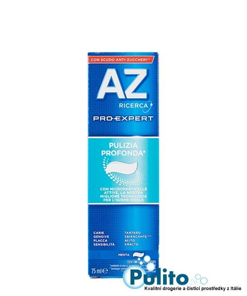 AZ Pro-Expert Pulizia Profonda, zubní pasta pro hloubkové čištění 75 ml.