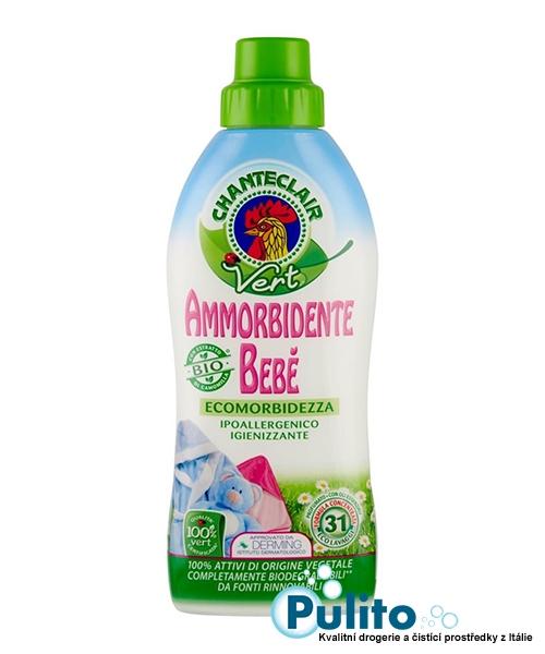 Chante Clair Vert Eco Bebé, dětská hypoalergenní aviváž 625 ml.