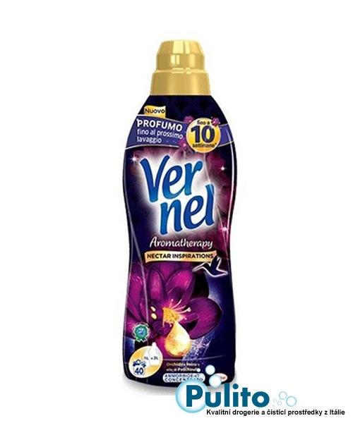 Vernel Aromatherapy Orchidea nera e olio di Patchouli aviváž koncentrát 1 l.