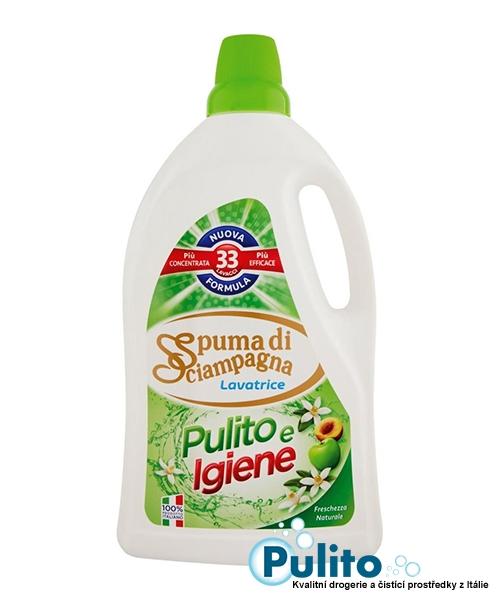 Spuma di Sciampagna Pulito e Igiene, prací gel 1,815 l. 33 pracích dávek