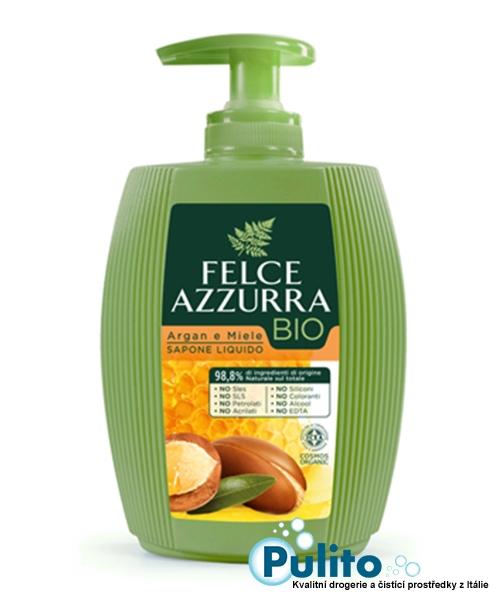 Felce Azzurra BIO Argan e Miele BIO tekuté mýdlo 300 ml