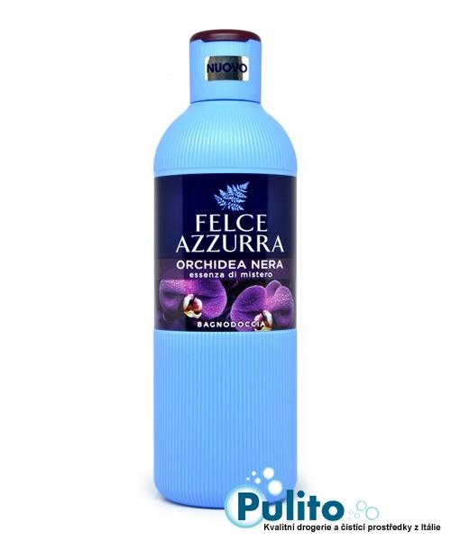 Felce Azzurra Orchidea Nera sprchový gel/koupelová pěna 650 ml.