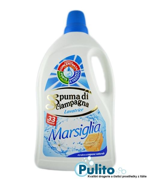 Spuma di Sciampagna Marsiglia prací gel 1,815 l., 33 pracích dávek