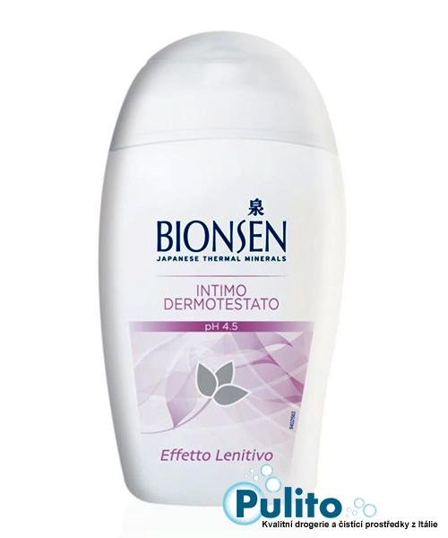 Bionsen Effetto Lenitivo zklidňující  intimní gel 200 ml.