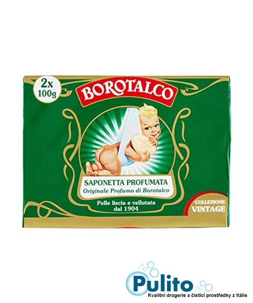 Borotalco toaletní mýdlo 2x100 g.