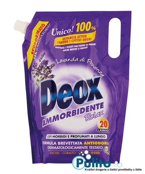 Deox Relax Lavanda di Provenza aviváž koncentrát 1 l., 20 pracích dávek