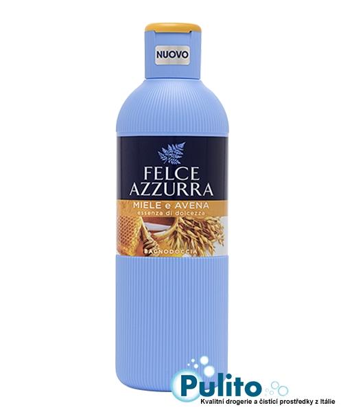 Felce Azzurra Miele e Avena sprchový gel/koupelová pěna 650 ml.