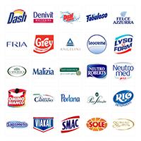 Prodávané značky italské drogerie